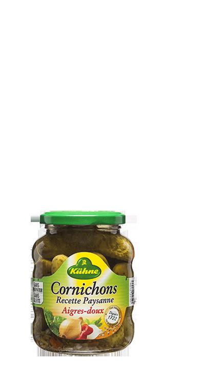 Cornichons Recette Paysanne 185g