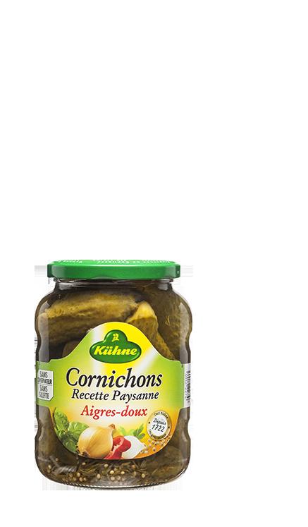 Cornichons Recette Paysanne 360g