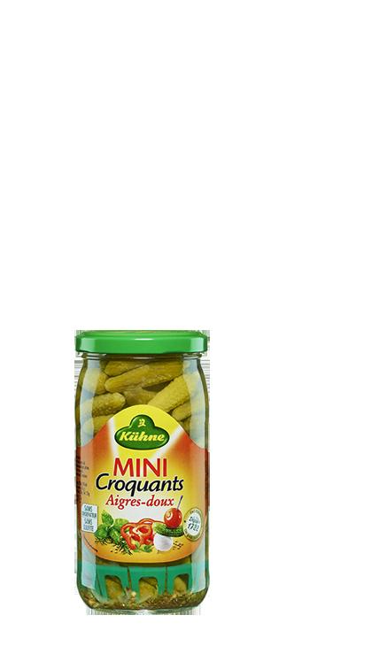 Cornichons Mini Croquants